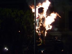 "Burning the ""bad guy"""